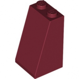 LEGO 4251438  TULE 2X2X3/ 73 GR. - NEW DARK RED