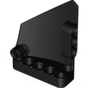 LEGO 4558740 TECHNIC RIGHT PANEL 5X7 - NOIR