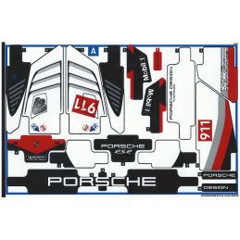 Stickers / Autocollant Lego Technic 42096