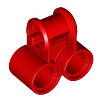 LEGO 6280393 TECHNIC CROSS BLOCK 2X1 - ROUGE lego-6280393-technic-cross-block-2x1-rouge ici :