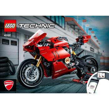 Notice / Instruction Lego TECHNIC - 42107