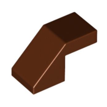 LEGO 6248854 TUILE 1X2 45° - REDDISH BROWN lego-6248854-tuile-1x2-45-reddish-brown ici :
