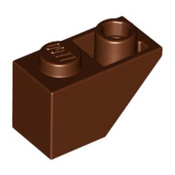 LEGO 4211222 TUILE 1X2 INV. - REDDISH BROWN