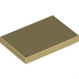 LEGO 6175367 PLATE LISSE 2X3 - BEIGE