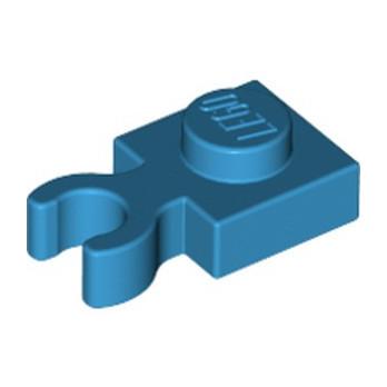LEGO 6237230 PLATE 1X1 W. HOLDER - DARK AZUR lego-6237230-plate-1x1-w-holder-dark-azur ici :