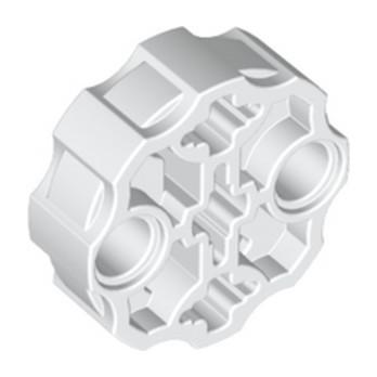 LEGO 6263181 WEAPON BARREL - BLANC