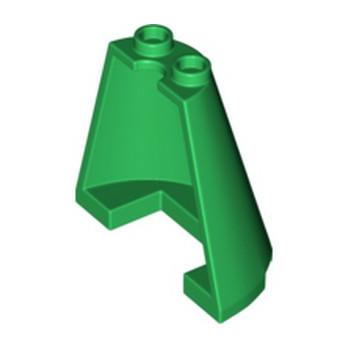 LEGO 6295983 1/2 CONE 2X4X3 - DARK GREEN lego-6295983-12-cone-2x4x3-dark-green ici :