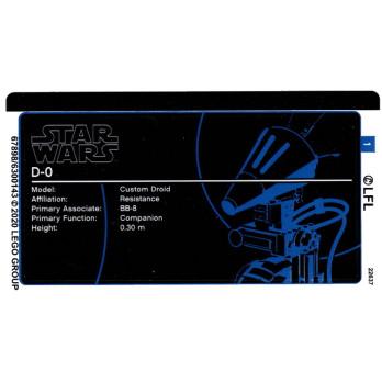 Stickers / Autocollant Lego Star wars 75278 stickers-autocollant-lego-star-wars-75278 ici :