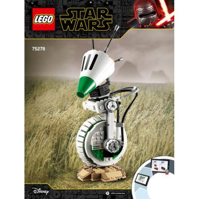Notice / Instruction Lego Star Wars 75278