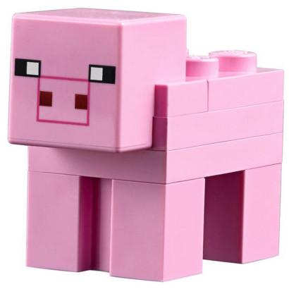 Figurine Lego® Minecraft - Cochon