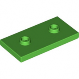 LEGO 6293826 PLATE LISSE 2X4 + TET - BRIGHT GREEN lego-6293826-plate-lisse-2x4-tet-bright-green ici :