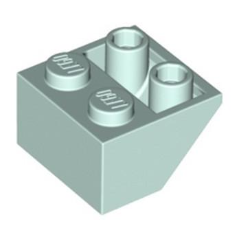LEGO 6300588 TUILE 2X2/45 INV - AQUA lego-6300588-tuile-2x245-inv-aqua ici :
