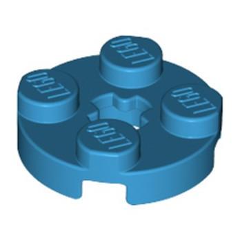 LEGO 6226919 PLATE 2X2 ROND - DARK AZUR lego-6226919-plate-2x2-rond-dark-azur ici :