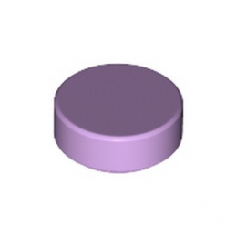 LEGO 98138 PLATE LISSE ROND 1X1 - LAVENDER lego-6322820-plate-lisse-rond-1x1-lavender ici :