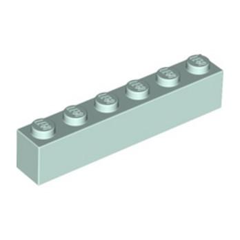 LEGO 6227921 BRIQUE 1X6 - AQUA