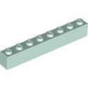 LEGO 6304892 BRIQUE 1X8 - AQUA