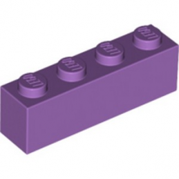 LEGO 6107188 BRIQUE 1X4 - MEDIUM LAVENDER