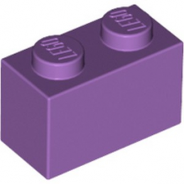 LEGO 4623598 BRIQUE 1X2 - MEDIUM LAVENDER