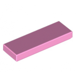 LEGO 6070317 PLATE LISSE 1X3 - ROSE CLAIR
