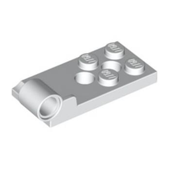 LEGO 6304887 PLATE BOT. 2X4 W. ø4.85 - BLANC lego-6304887-plate-bot-2x4-w-o485-blanc ici :
