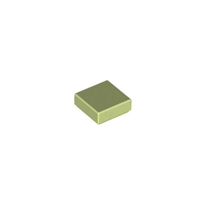 LEGO 6304896 PLATE LISSE 1X1 - SPRING YELLOWISH GREEN