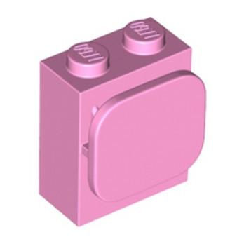 LEGO 6303125 BRIQUE 1X2X2 / FONCTION - ROSE CLAIR