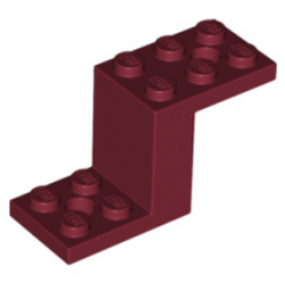 LEGO 6268214 BOTTOM 2X5X2 1/3 - NEW DAR RED