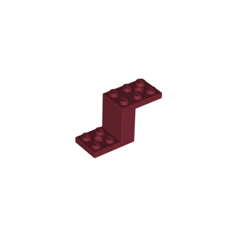 LEGO 6268214 BOTTOM 2X5X2 1/3 - NEW DAR RED