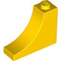 LEGO 6297316 1/2 ARCHE INV 1x3x2 - JAUNE