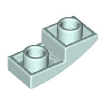 LEGO 6336530 DOME INV. 1X2X2/3 - AQUA lego-6336530-dome-inv-1x2x23-aqua ici :