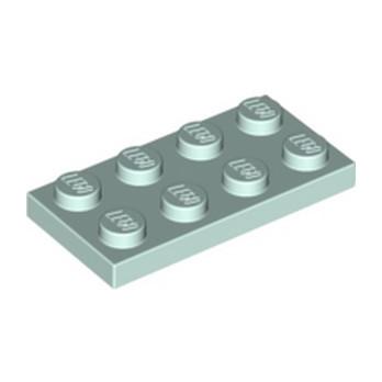 LEGO 6138662 PLATE 2X4 - AQUA lego-6138662-plate-2x4-aqua ici :