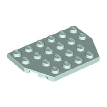LEGO 6210454 PLATE 4X6 26° - AQUA lego-6210454-plate-4x6-26-aqua ici :