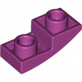 LEGO 6142402 DOME INV. 1X2X2/3 - MAGENTA lego-6142402-dome-inv-1x2x23-magenta ici :