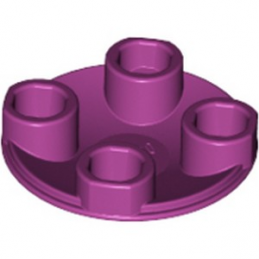 LEGO 6143445 ROND LISSE 2X2 INV  - MAGENTA
