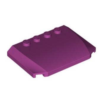 LEGO 6116974 CAPOT 4X6X2/3 - MANGENTA lego-6116974-capot-4x6x23-mangenta ici :