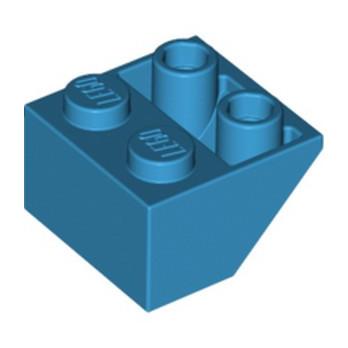 LEGO 6078297 TUILE 2X2/45 INV - DARK AZUR lego-6078297-tuile-2x245-inv-dark-azur ici :