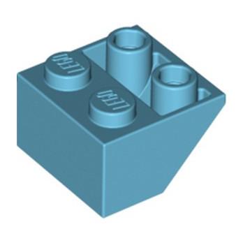 LEGO 6070756 TUILE 2X2/45 INV - MEDIUM AZUR