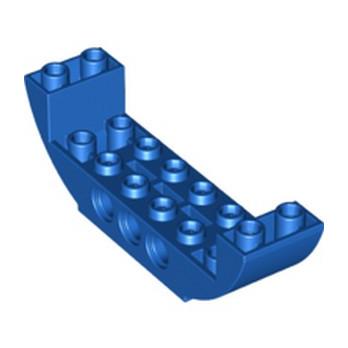 LEGO 6305464 BOW BOTTOM 2X8X2 Ø4.85  - BLEU lego-6305464-bow-bottom-2x8x2-o485-bleu ici :