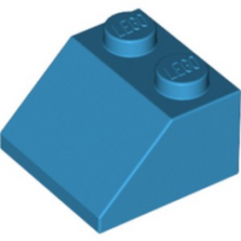 LEGO 6206314 TUILE 2X2/45° - DARK AZUR