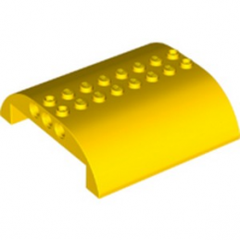 LEGO 6308420 HAUT COURBE 8X8X2 Ø4.85 - JAUNE