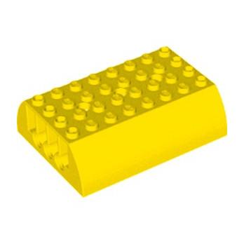 LEGO 6308423 TANK UPPER PART 8X6X2 - JAUNE