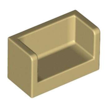 LEGO 6173986 CLOISON 1X2X1- BEIGE lego-6248495-cloison-1x2x1-beige ici :