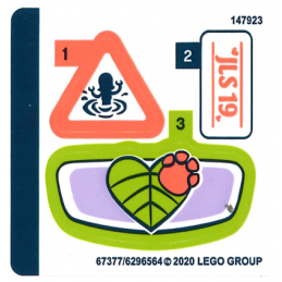Stickers / Autocollant Lego Friends 41421 stickers-autocollant-lego-friends-41421 ici :