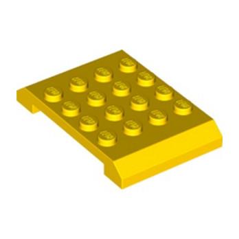 LEGO 6306027 SHELL, 4X6X2/3  - JAUNE lego-6306027-shell-4x6x23-jaune ici :