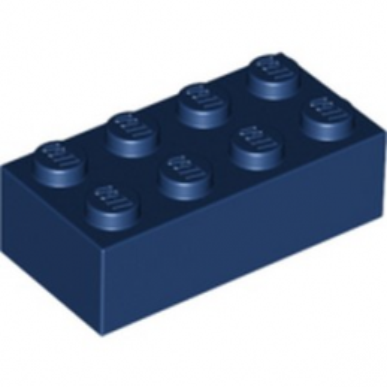 LEGO 6275133 BRIQUE 2X4 - EARTH BLUE