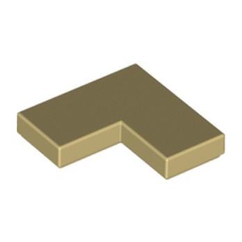 LEGO 6173057 PLATE LISSE ANGLE 1X2X2 - BEIGE lego-6173057-plate-lisse-angle-1x2x2-beige ici :