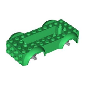 LEGO 6303228 BASE VOITURE - DARK GREEN