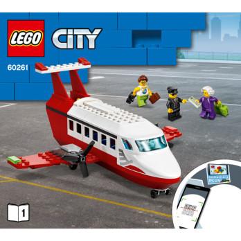 Notice / Instruction Lego  City 60261 notice-instruction-lego-city-60261 ici :