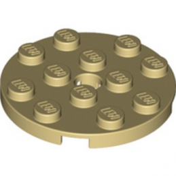 LEGO 6302268 PLATE ROND 4X4 - BEIGE lego-6302268-plate-rond-4x4-beige ici :