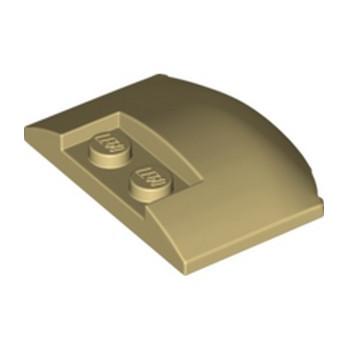 LEGO 6302259 CAPOT 3X4X2/3  - BEIGE lego-6302259-capot-3x4x23-beige ici :